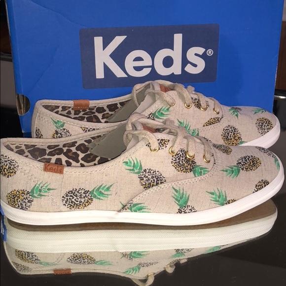 29935ad333de Keds Shoes - Keds Fruit Animal Pineapple Cheetah Nat Yellow
